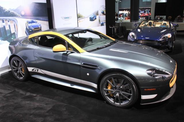 2015 Aston Martin Vantage GT, 2014 New York Auto Show