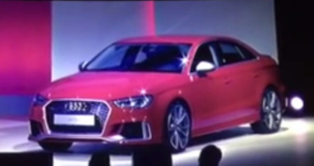 2018 Audi RS 3 leaked - Image via World Car Fans
