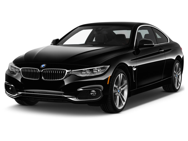 2018 BMW 4-Series 430i Coupe Angular Front Exterior View