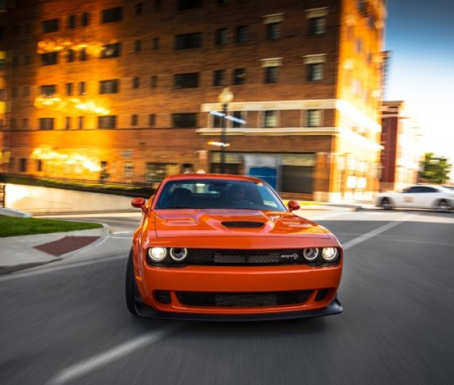 Dodge Challenger Srt Hellcat Widebody First Drive