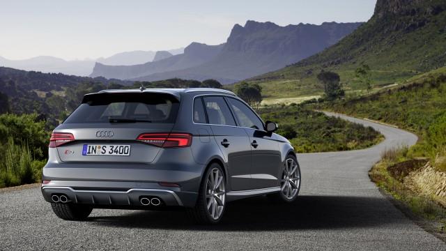 Updated Audi S3 Sportback (European spec)