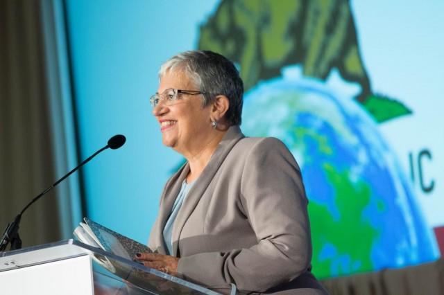 California Air Resources Board chair Mary Nichols (via Twitter)
