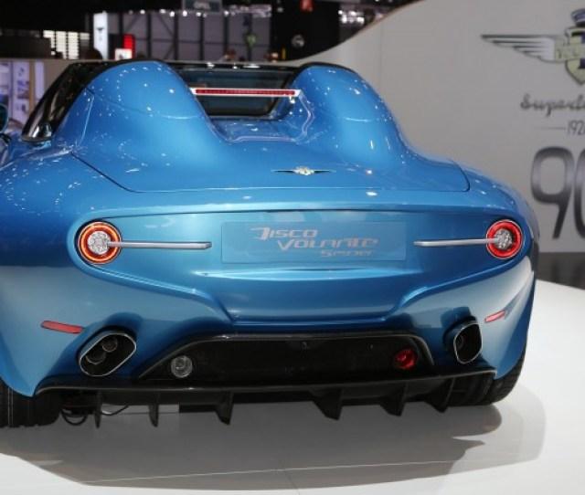 Carrozzeria Touring Superleggera Alfa Romeo Disco Volante Spyder  Geneva Motor Show