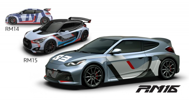 Hyundai Reveals Veloster Based RM16 N Concept