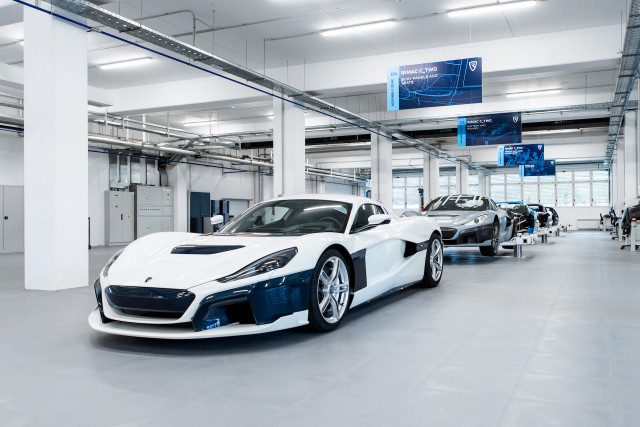 Rimac C_Two production line
