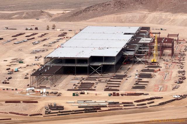 Tesla battery gigafactory site, Reno, Nevada, Feb 25, 2015 [photo: CC BY-NC-SA 4.0 Bob Tregilus]
