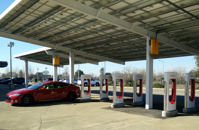 Image result for tesla supercharger station roseville