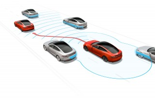Tesla Autopilot sensor system