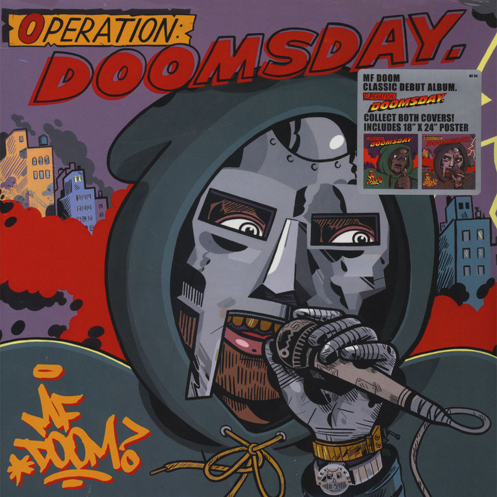 mf doom operation doomsday metal face cover edition