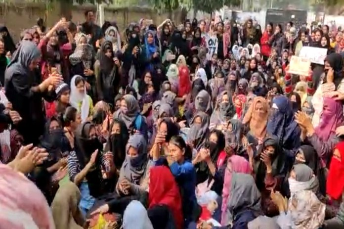 CAA protest, Idgah Maidan Shahzamal, aligarh