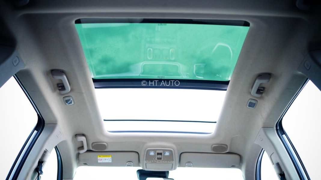 XUV700 gets the largest-in-segment sunroof.