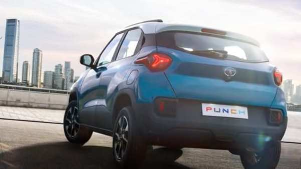 Tata Punch SUV teased again, reveals rear design for the first time