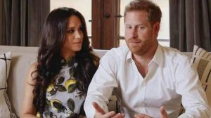 Meghan Markle looks like perfection in a 2.5 lakh dress with Prince Harry