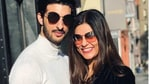 All seems to be well between Sushmita Sen and Rohman Shawl.