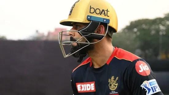 रॉयल चैलेंजर्स बैंगलोर के कप्तान विराट कोहली। (रॉयल चैलेंजर्स बैंगलोर)