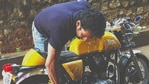 Actor Harshvardhan Rane put his bike on sale to help those in need amid the Covid-19 pandemic.