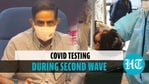 Covid testing during second wave