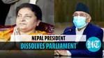 Nepal president dissolves Parliament, calls for fresh election in November