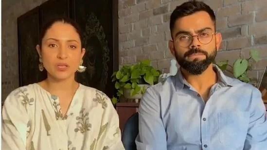 Anushka Sharma and Virat Kohli help raise funds for a child.