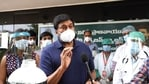 Chiranjeevi has been leading from the front in Covid 19 relief.