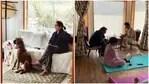 Neena Gupta's husband Vivek, daughter Masaba Gupta and her boyfriend Satyadeep are all in Mukteshwar with the actor.