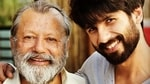 Pankaj Kapur shared screen space with Shahid Kapoor in Shaandaar.
