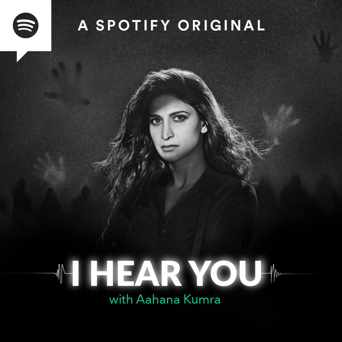 I Hear You features actor Aahana Kumra voicing detective Priyamvada, who can hear the thoughts of the dead.