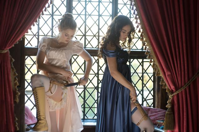 Pride and Prejudice and Zombies (2016). Looking for a specific period drama, battle montage or even a movie with heavy drapery? Flim.ai can match those keywords with reasonably precise results. (Image courtesy Lionsgate)