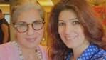Twinkle Khanna shares a pic with Dimple Kapadia.