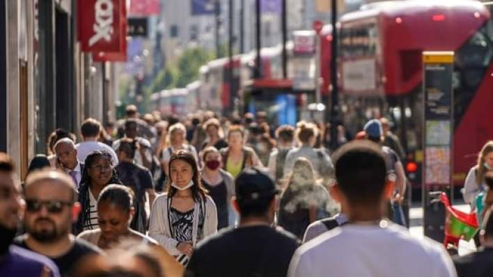 uk records 18,270 new covid-19 cases, highest single-day spike since february 5   world news - hindustan times