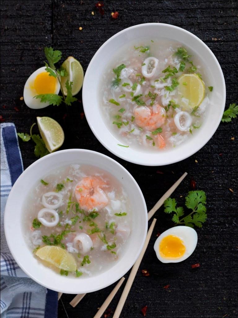 Sea-food soup(Chowman)