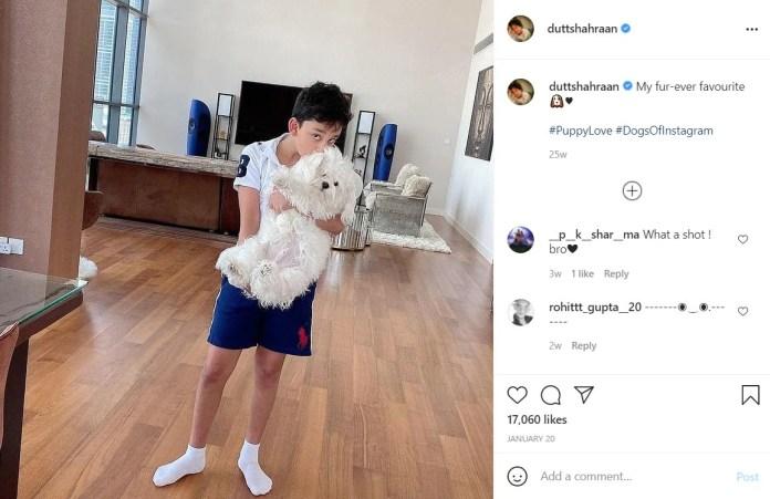 Shahraan Dutt on Instagram.