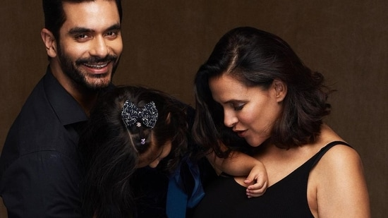 Angad Bedi says Neha Dhupia's second pregnancy 'not easy on her': 'It's a  different experience'   Bollywood - Hindustan Times