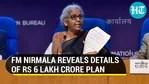 FM Nirmala Sitharaman reveals details of <span class=