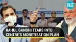 Rahul Gandhi attacks Centre over monetisation plan