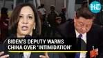 Kamala Harris' warning to Beijing on South China Sea
