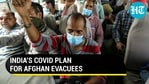 What is India's Covid plan for Afghan evacuees?