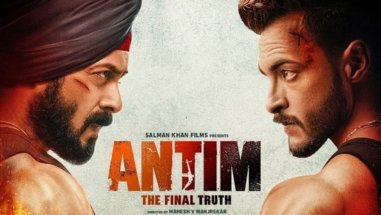 Antim: Salman Khan shares first poster, teases fiery face-off with Aayush Sharma. See here | Bollywood - Hindustan Times