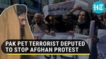 PAK PET TERRORIST DEPUTED TO STOP AFGHAN PROTEST