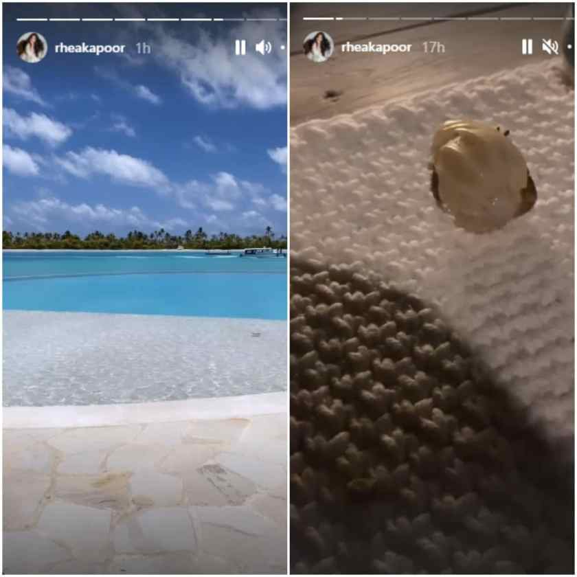 Earlier this month, the couple traveled to the Maldives for their honeymoon.