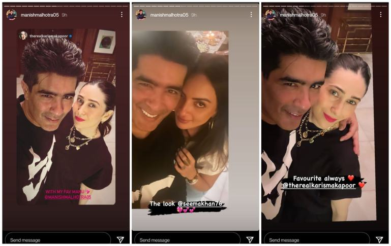 Many celebrities attended the Manish Malhotra party.