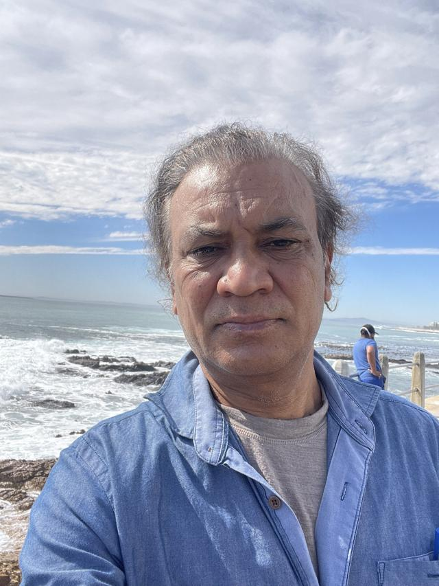 Vipin Sharma recently visited Cape Town, South Africa.  (Source)