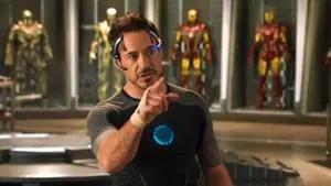 Robert Downey Jr in a still from Iron Man 3.