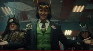 Tom Hiddleston as Loki, in the first trailer for the upcoming Marvel series.
