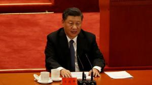 In the first order of the Central Military Commission in 2021 Xi Jinping stressed on strengthening military training in real combat conditions and the ability to win, reported Xinhua(REUTERS)