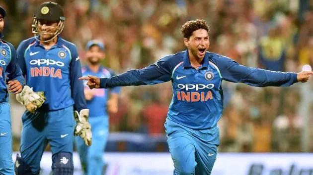 How Ms Dhoni Helped Kuldeep Yadav Bag Maiden Odi Cricket Hat Trick Cricket Hindustan Times
