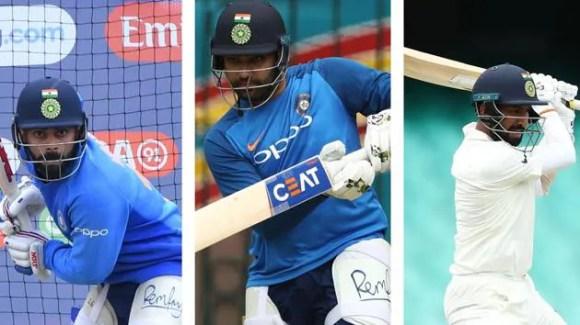 How Virat Kohli, Rohit Sharma, Cheteshwar Pujara tweaked their techniques:  Sanjay Bangar reveals specific details | Cricket - Hindustan Times
