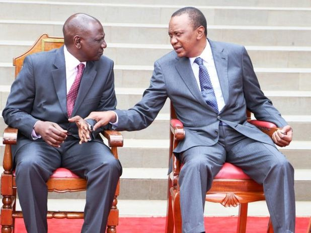Image result for uhuru and ruto