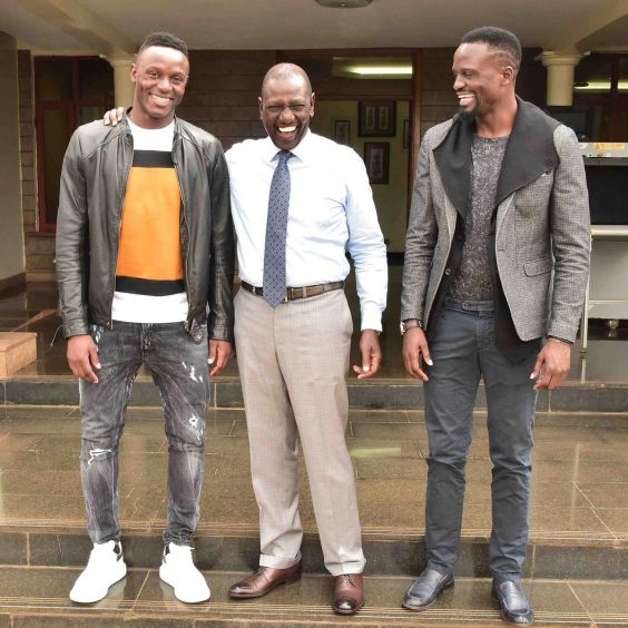 Image result for mariga with ruto