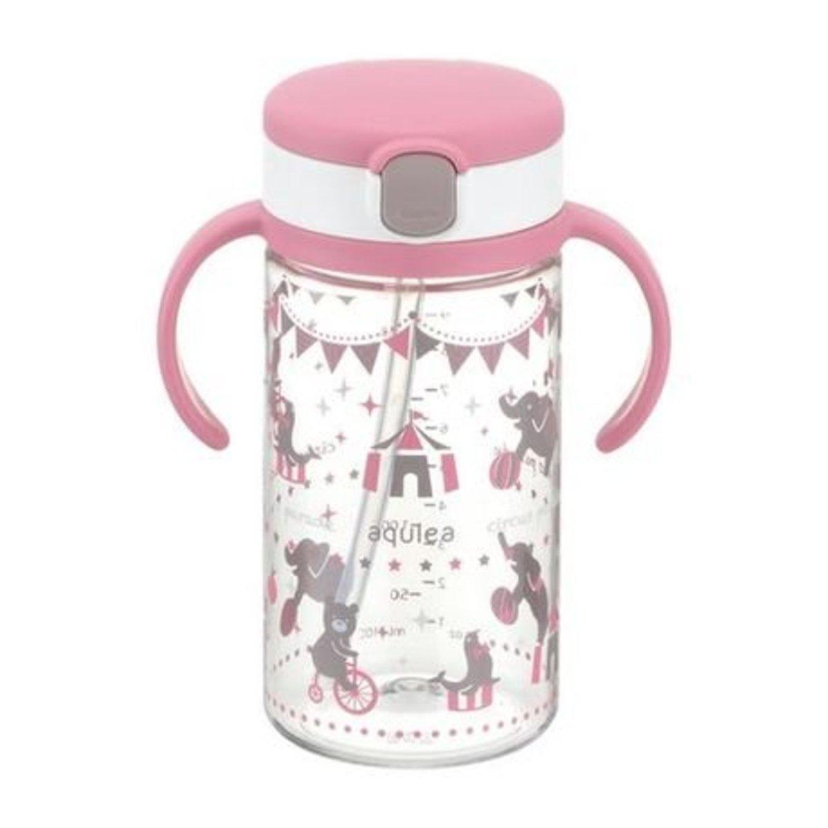 Richell | Richell 馬戲團圖案嬰兒吸管水杯320ml (粉紅色) | 香港電視 HKTVmall 網上購物